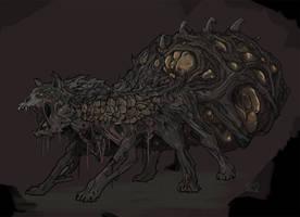 Spiderwolf by Halycon450