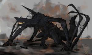 Gogmazios, the Giant Halberd Dragon
