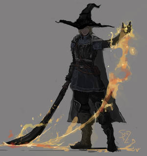 Dark Souls Pyromancer