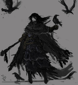 Raven Witch by Halycon450