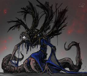 Aghast Primadonna by Halycon450