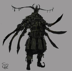 Blade adorned Sentinel