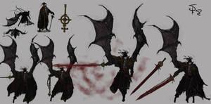 Elaina, the crimson Huntress by Halycon450