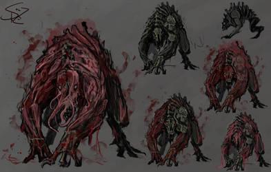Fleshcurse Hyena
