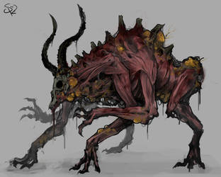Plague-ridden Valg by Halycon450