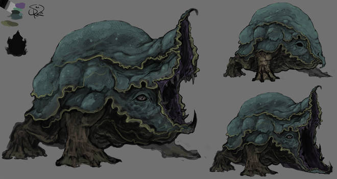 Greybog Toad