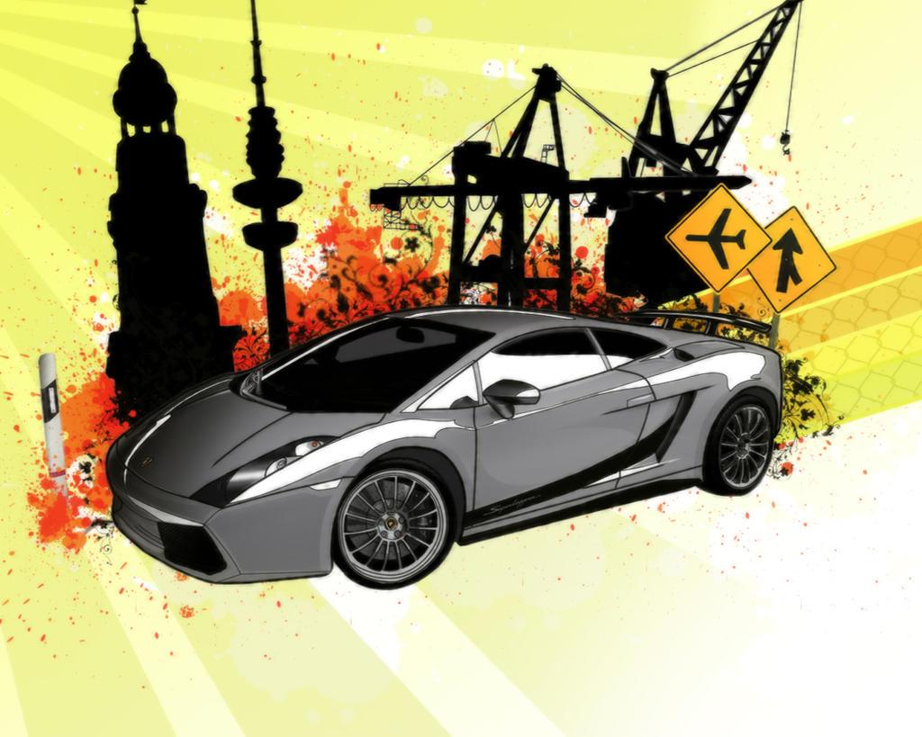 Lamborghini Gallardo by Pharr0xx
