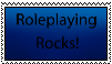 Roleplaying rocks stamp by Messylittlebaby