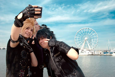 How 'bout a selfie? -FFXV-