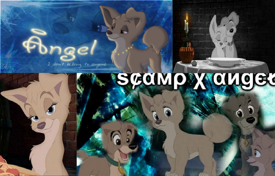 Angel and Scamp by Manicgirlxx