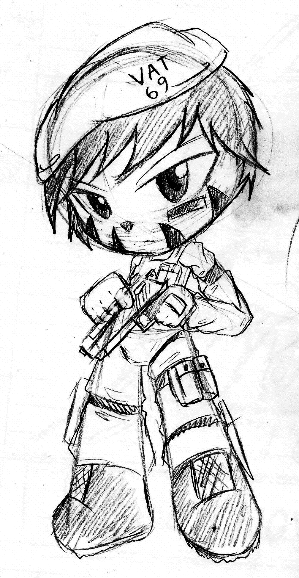Malaysia Legendary Spec Ops- Vat 69 -Sketch by Rumilax