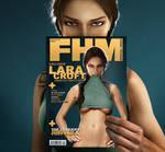 Lara Croft FHM Cover