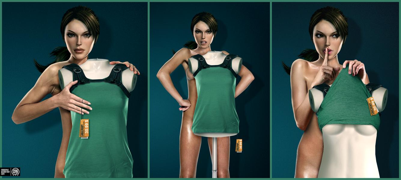 Lara Croft - Under The Skin by MadSpike