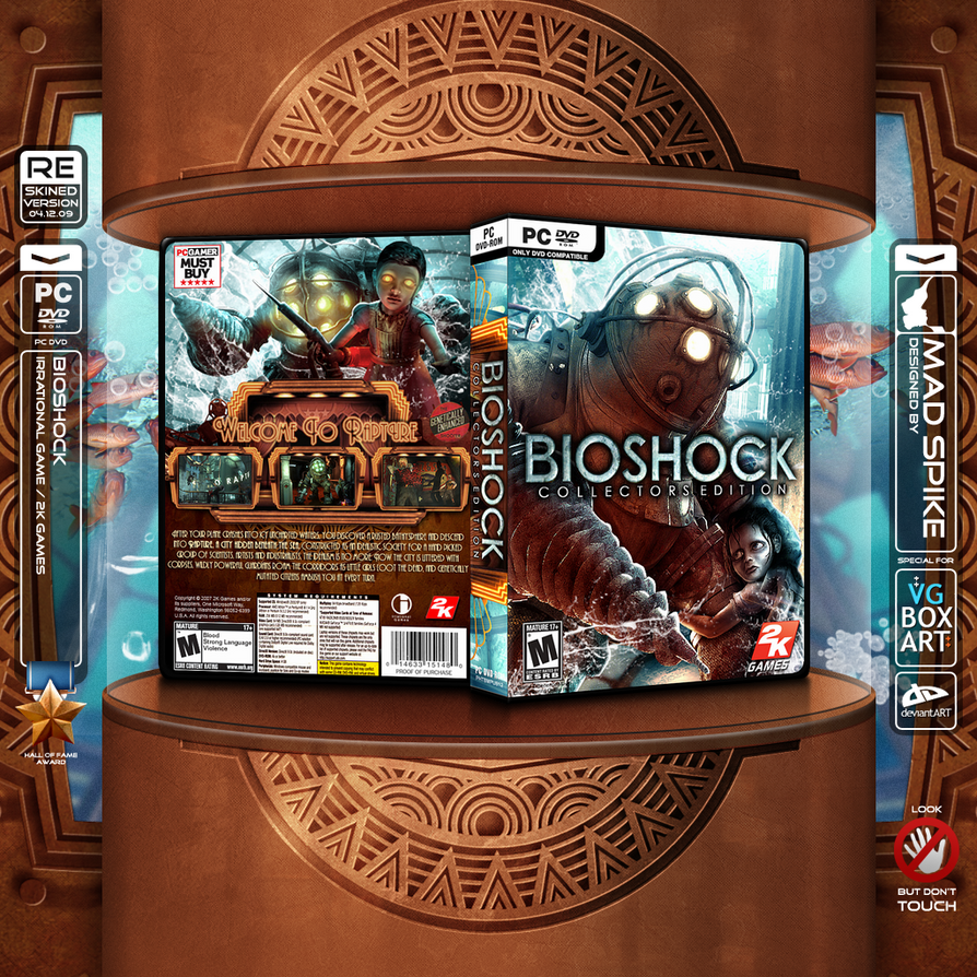 Bioshock Box Art by MadSpike
