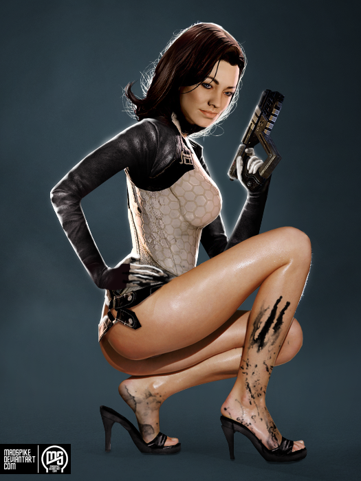 Miranda Lawson by MadSpike