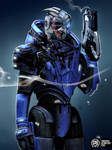 Garrus - Archangel by MadSpike
