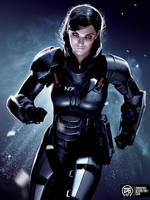 Shepard by MadSpike