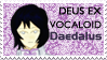 VOCALOID Daedalus Stamp by Sho-saka