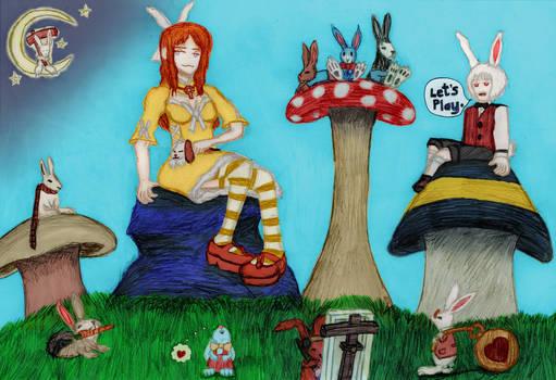 Saint Melangell in Wonderland
