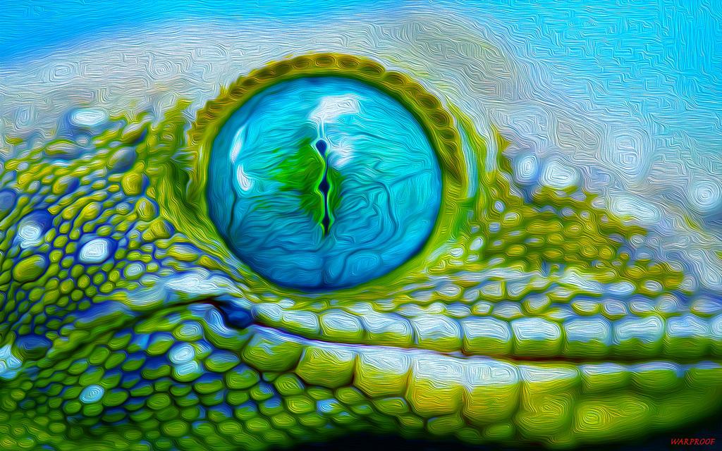 iguana eye painting - photo #39
