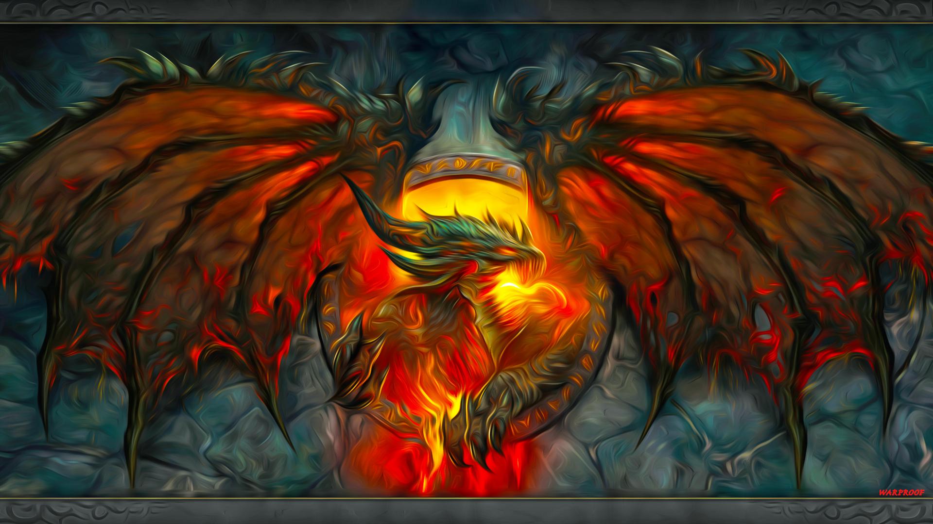 WARPROOF Fantasy Dragon REMAKE* by WARPROOF80