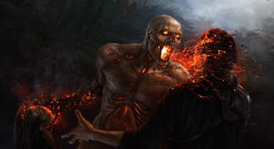 By Vlad Marica Demon owning demon hunters by WARPROOF80