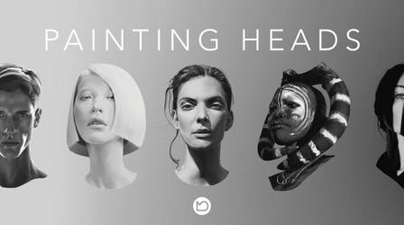 Painting Heads Tutorial by Marcel-Domke
