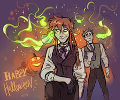HAPPY HALLOWEEN! by Risto-licious
