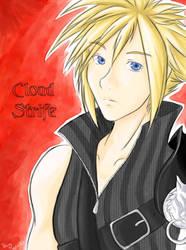 Cloud Strife - Advent Children by HarukoChan001
