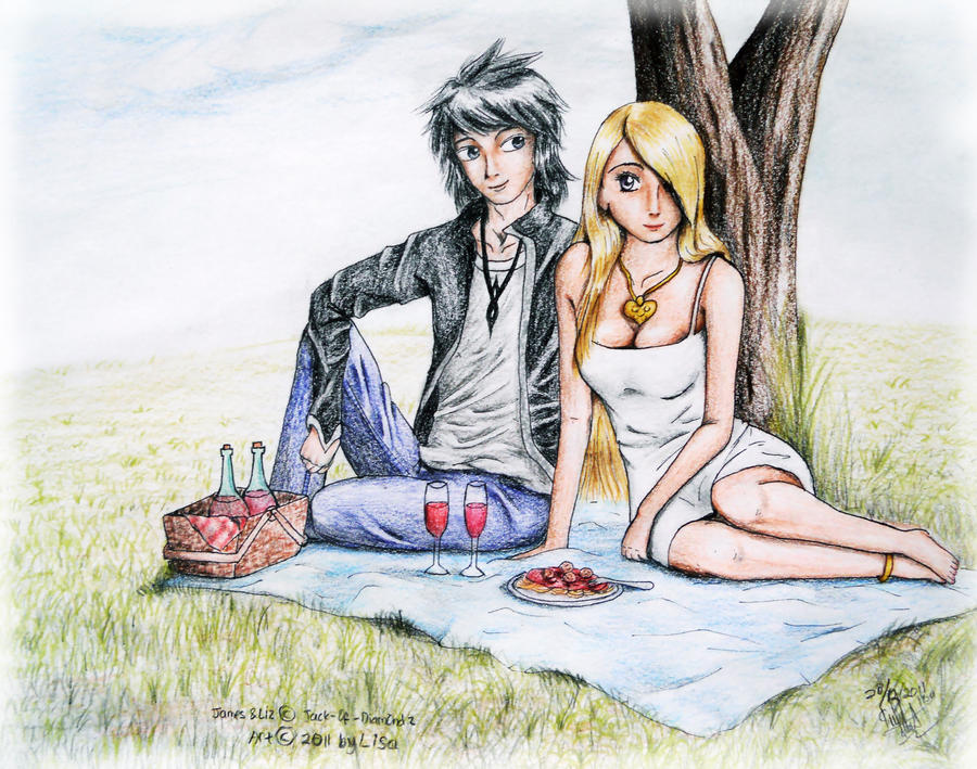 Love Picnic by Lisa-Art