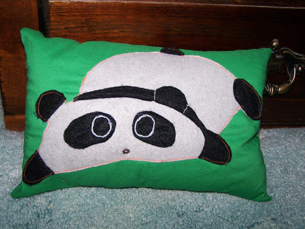 Cute Neko Pillow : Panda Pillow by Sarcastique-Neko on DeviantArt