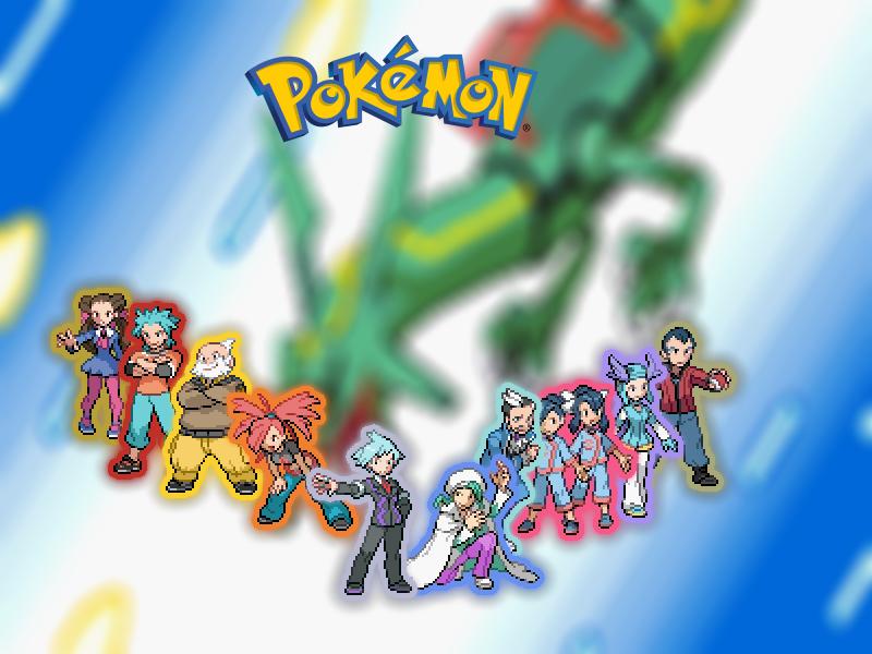 Pokemon Ruby/Sapphire/Emerald Desktop Background by ...