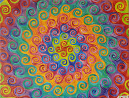 Psychedelic Impressionism by DesocializedMedicine