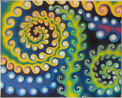 Rainbow Fractal Nougat Crunch by DesocializedMedicine
