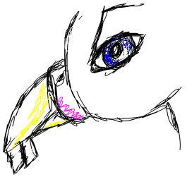 Henry - Quick MSN Sketch by black-blu-tears