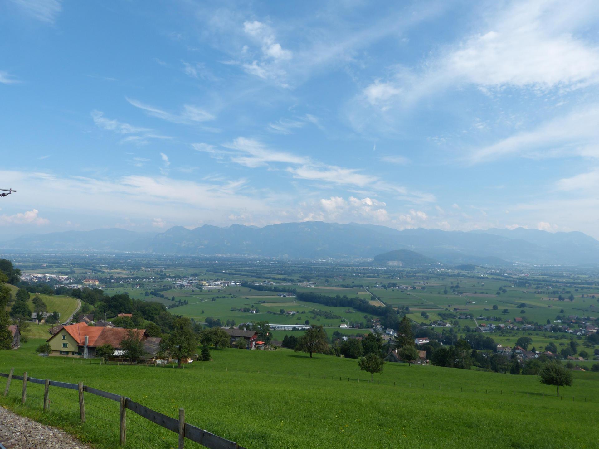 St. Galler Rheintal