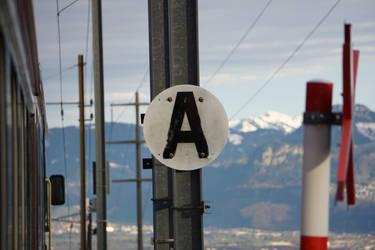 Gais-Altstaetten SG - Zahnradbahn
