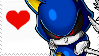 Metal Sonic Stamp by BlazeCherry