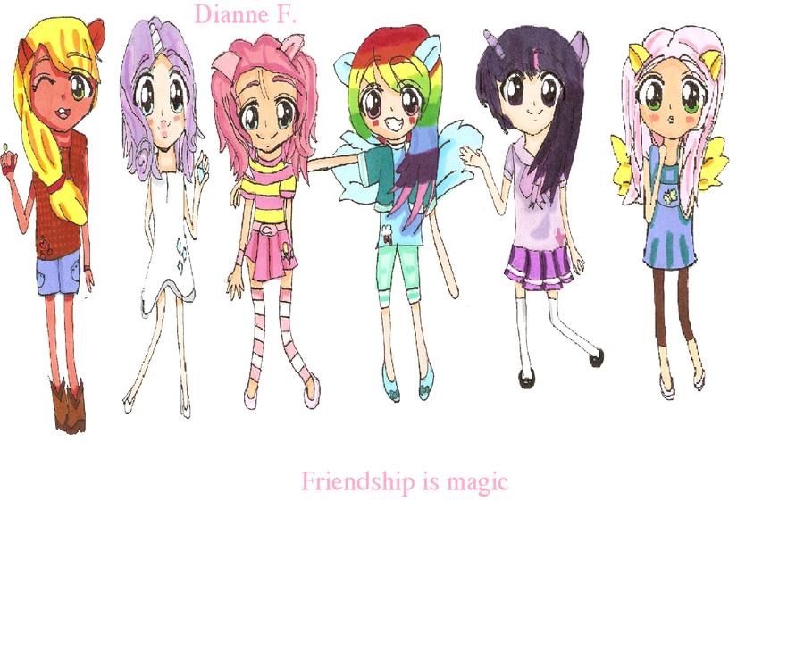 My little pony friendship is magic copic art by misu chu