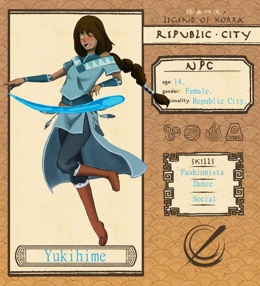 RC NPC - Yukihime by BioxEmmy