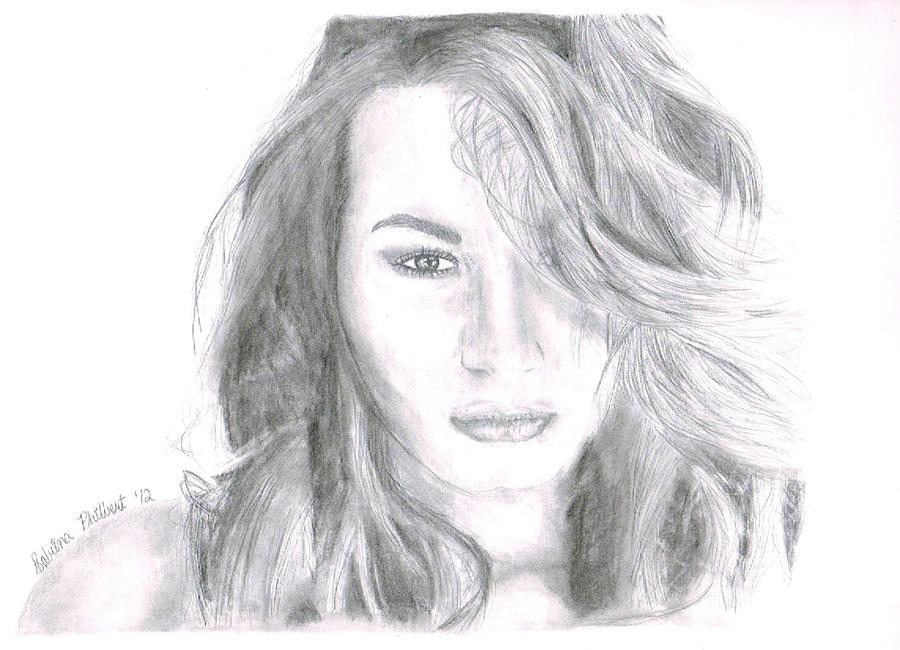 Demi Lovato Portrait by sphili