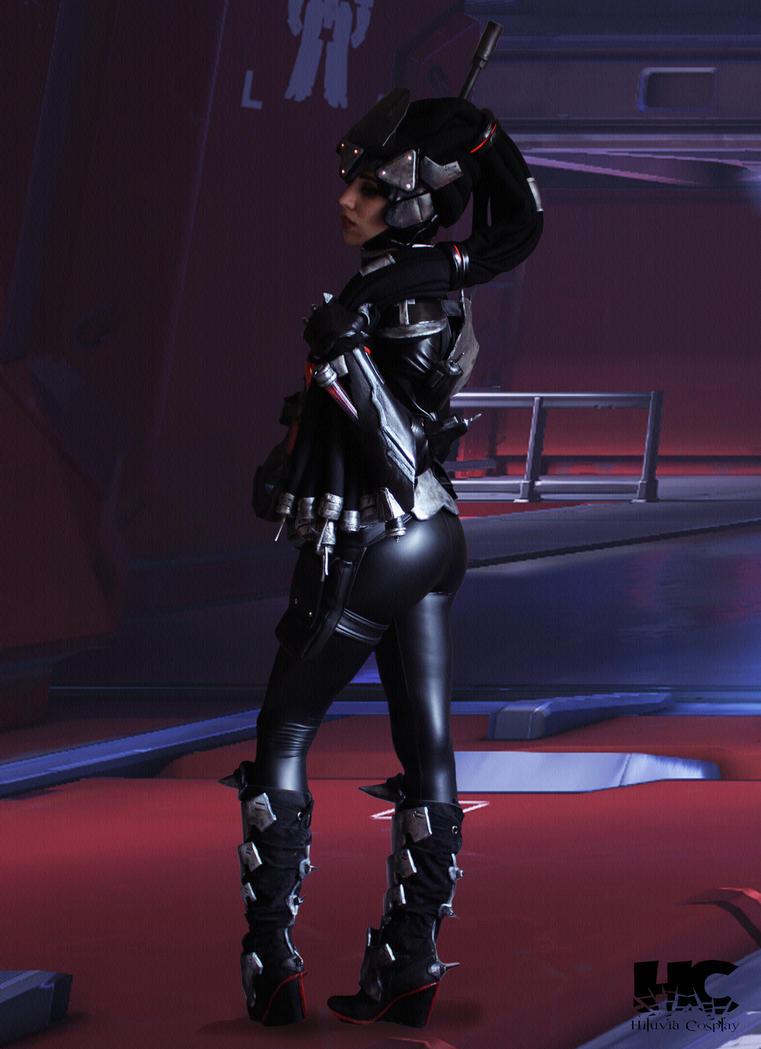 Widowmaker Noire Skin - Overwatch by Hiluvia