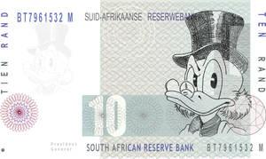 Scrooge Mcduck-African