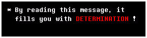Undertale text box