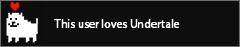 Undertale lover-userbox by AxelTheJackal