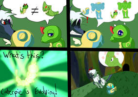 Team Superstar - Evolve the Caterpie by Shirou14