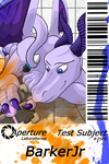 Aperture Badge Commission - BarkerJr by Shirou14