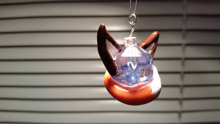 Fox Character Necklace by Shirou14