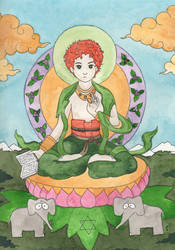Bodhisattva Kyle by effingbirds