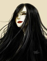 Black-Haired Lady by JoannaSales